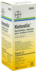 Ketone Urinalysis Test Strip