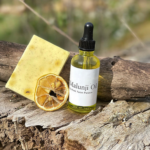 Malunji Oil 30ml and Turmeric Soap Combo