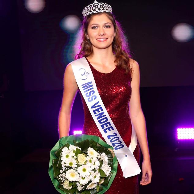 Marion Bulteau - Miss Vendée 2020
