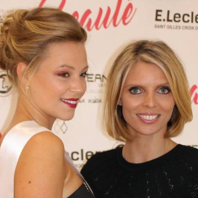 Chloé Guémard et Sylvie Tellier