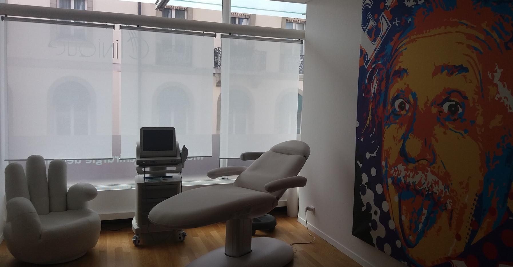 Salle de consultation_LA CLINIQUE