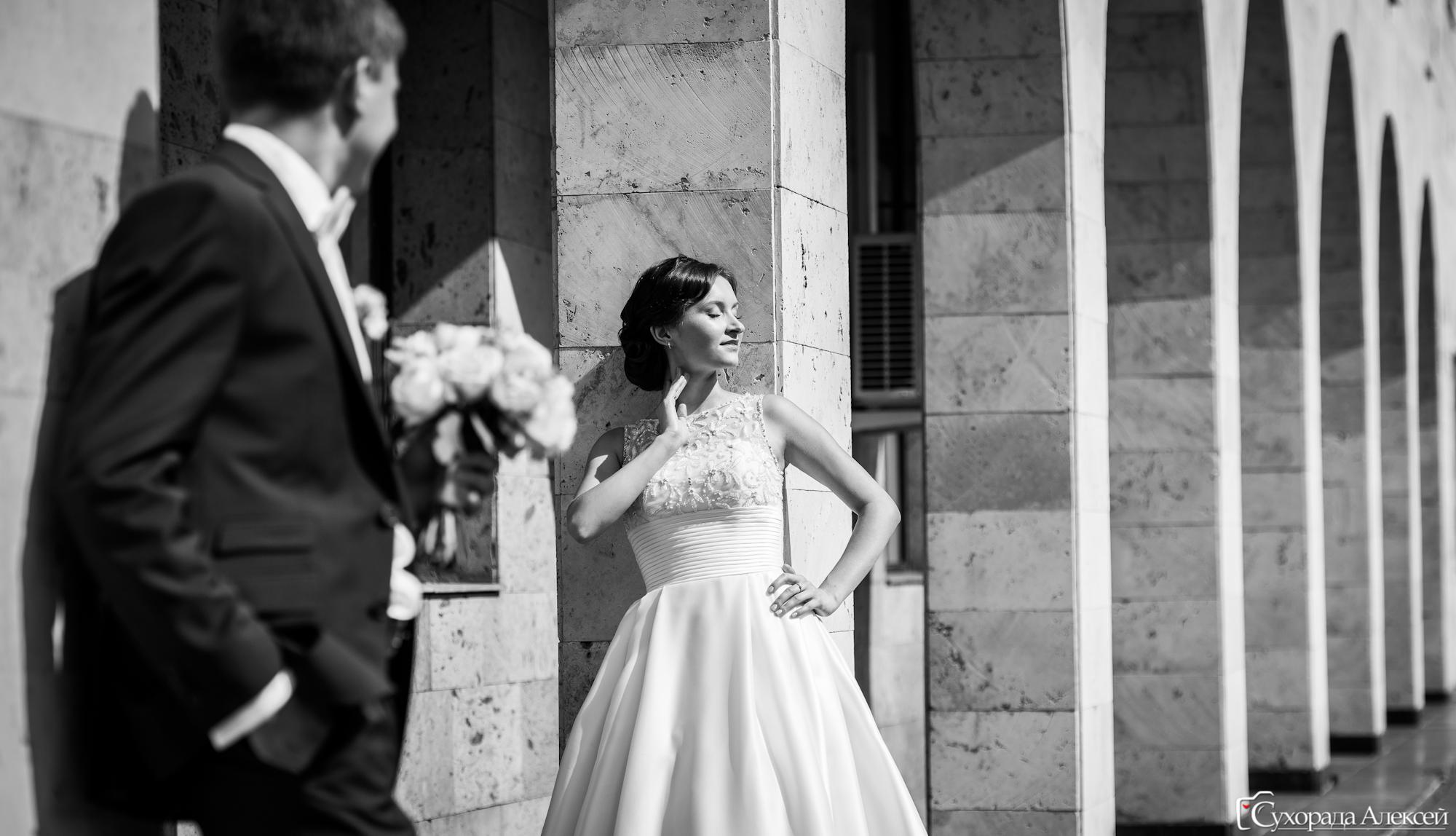 свадебная прогулка в Домодедово