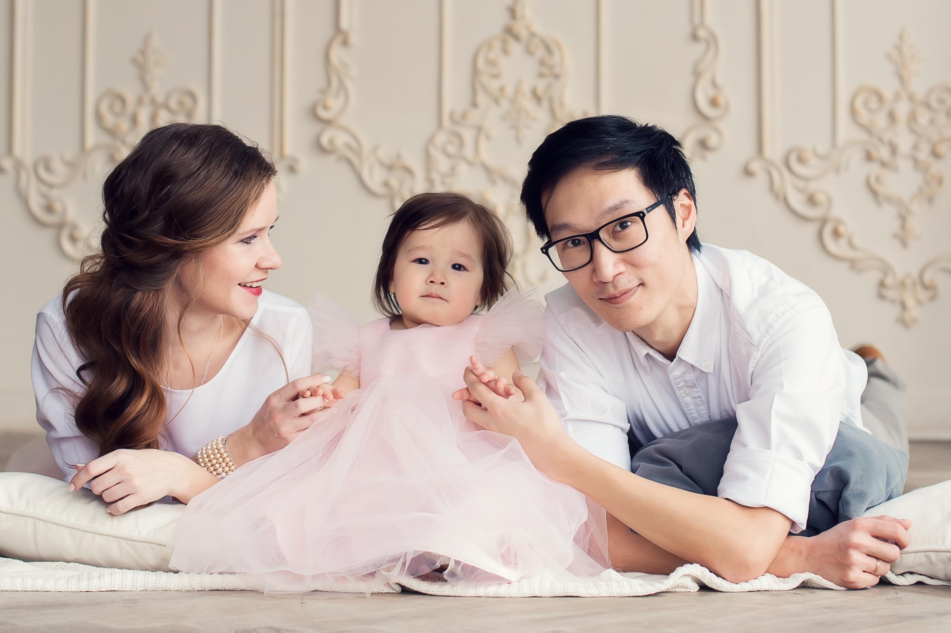 Стильная семейная фотосессия