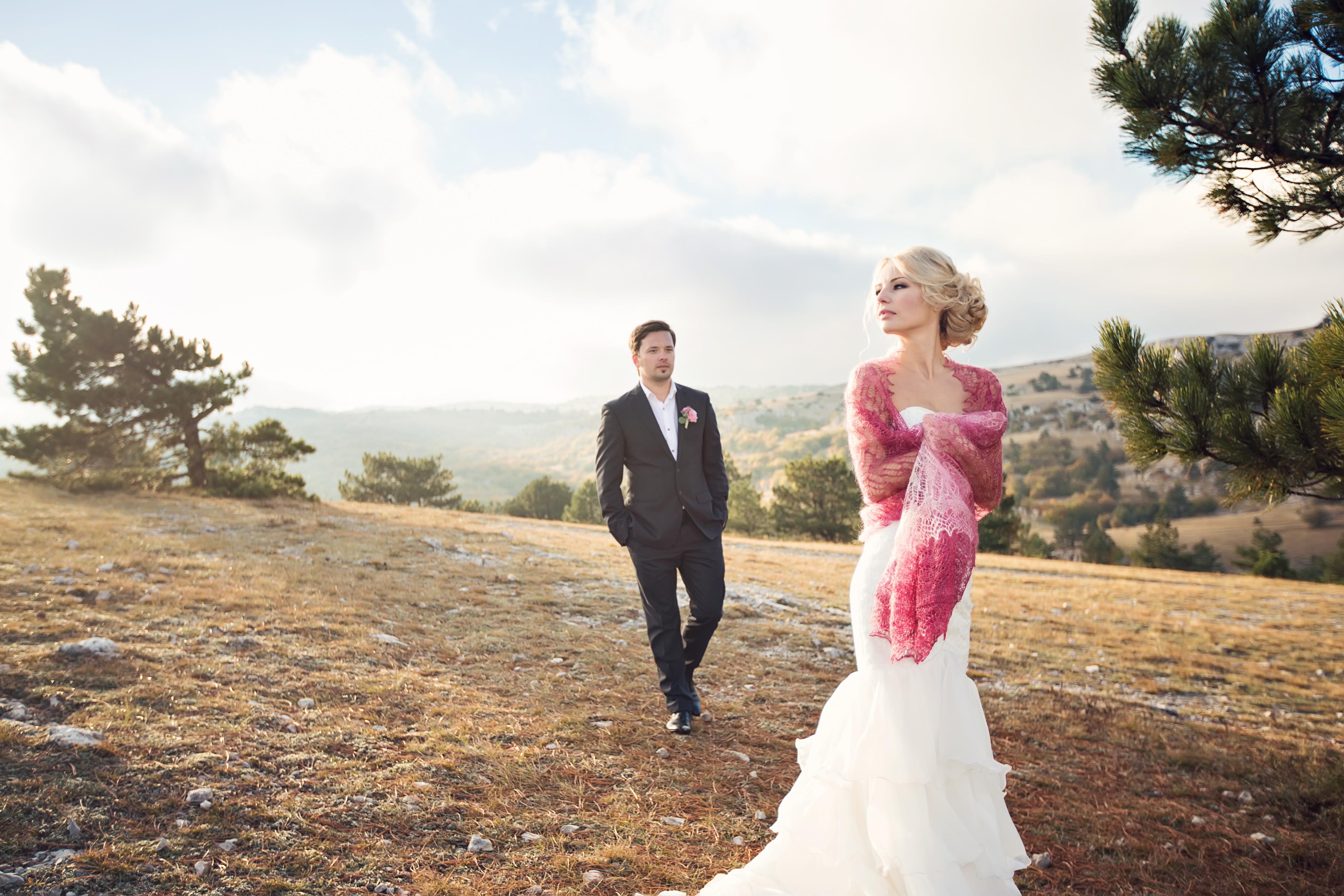 свадебная фотосессия на Ай Петри