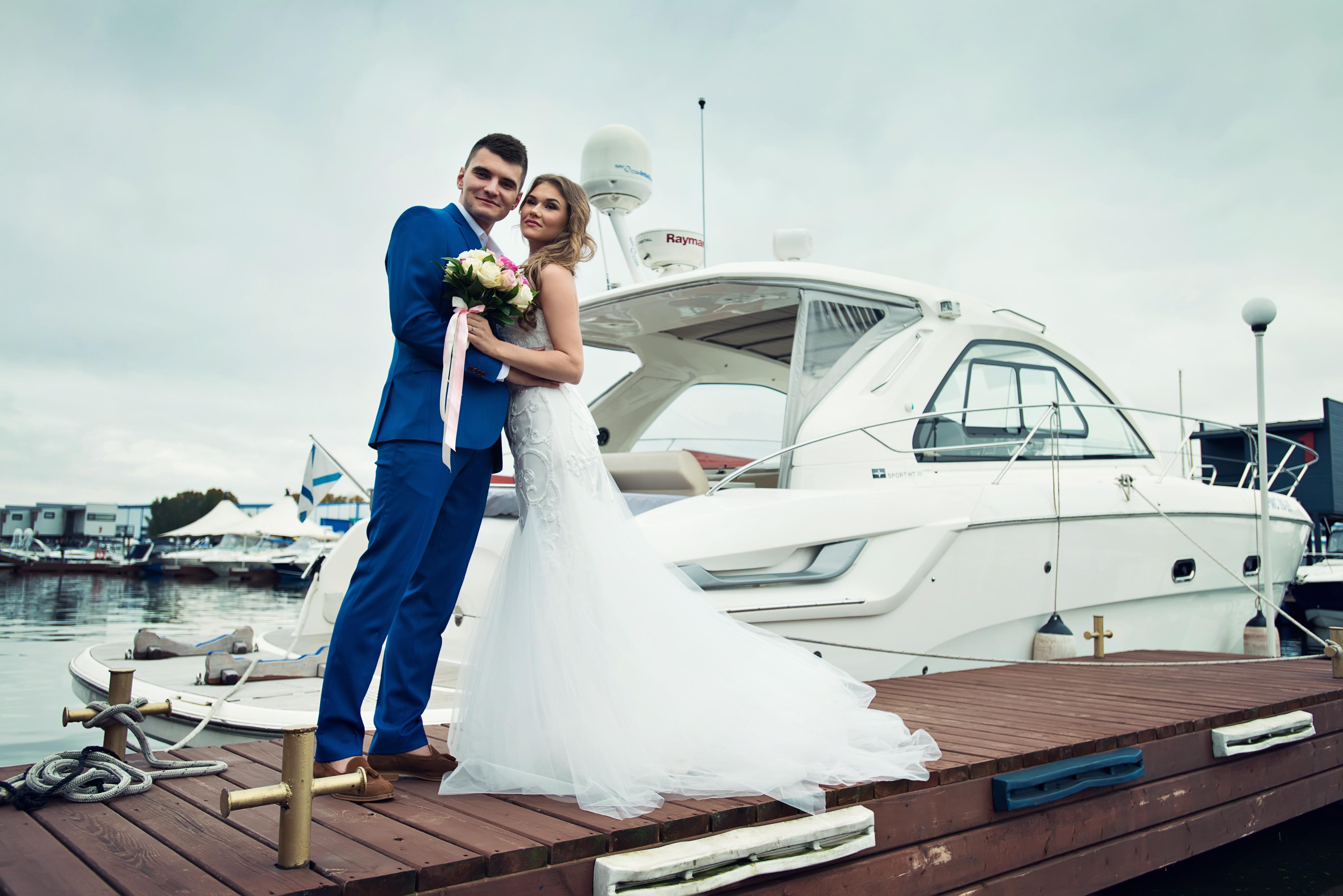 свадьба в яхтклубе Москва