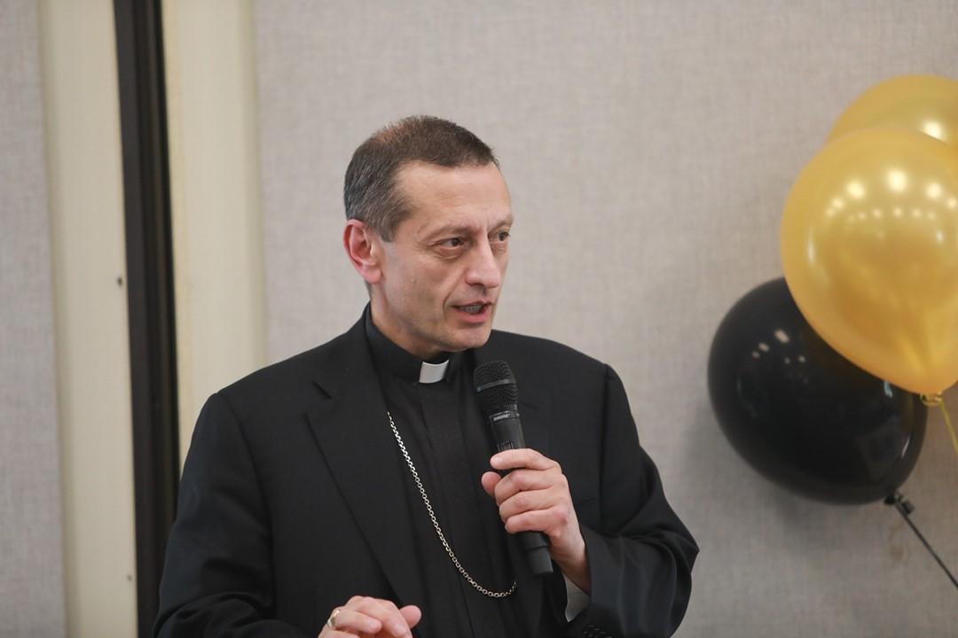 The Most Reverend Frank Caggiano