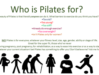 Who is Pilates for?