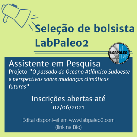 LabPaleo2 seleciona bolsista