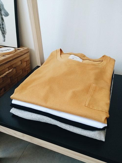 Camiseta Lagertha | mostarda