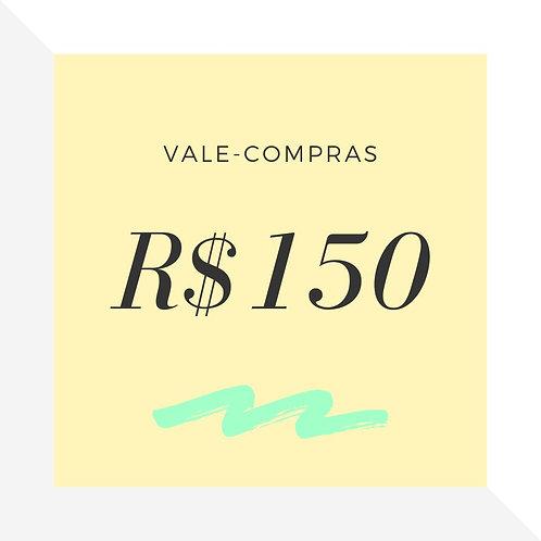 Vale-Compras R$150