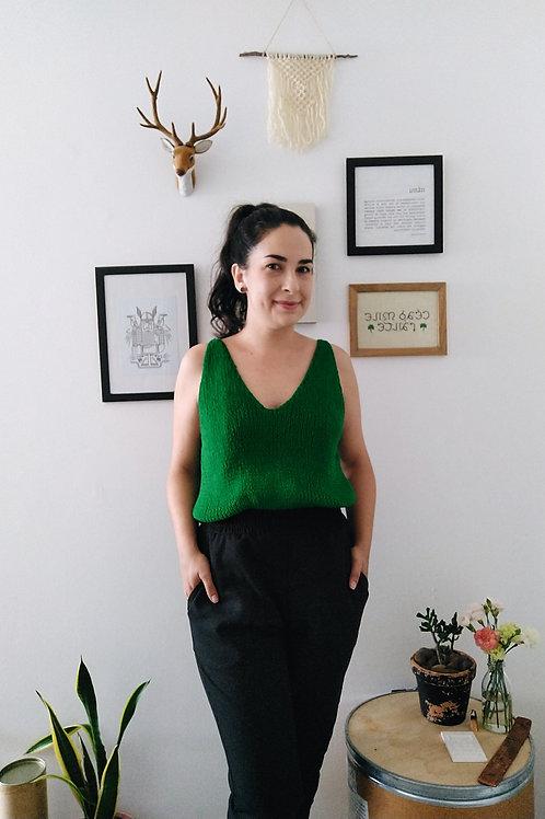 Regata Sônia | Verde Bandeira