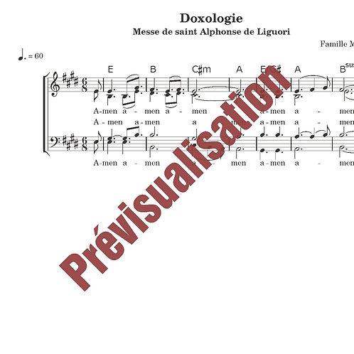 Doxologie (Messe de St Alphonse)