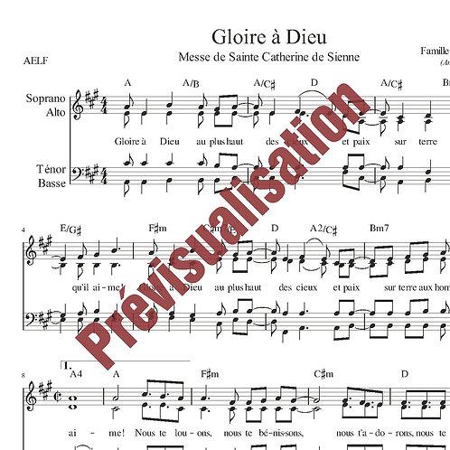 Gloire à Dieu (Messe de Ste Catherine de Sienne)