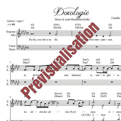 Doxologie (Messe de St Maximilien Kolbe)