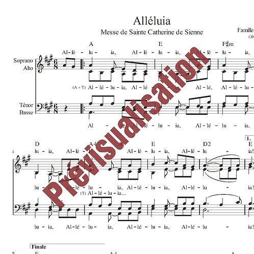 Alléluia (Messe de Ste Catherine de Sienne)