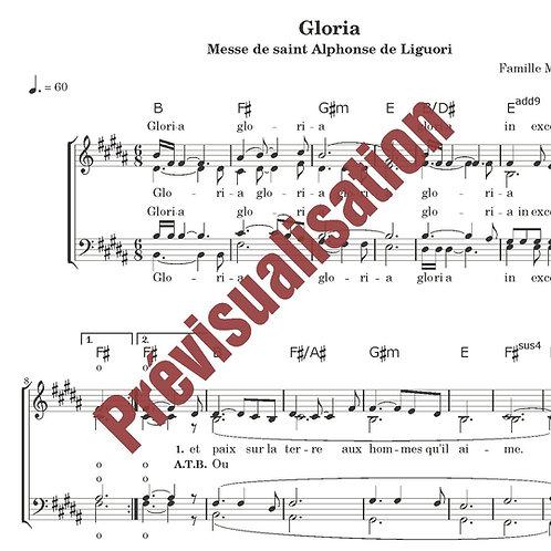 Gloria (Messe de St Alphonse)