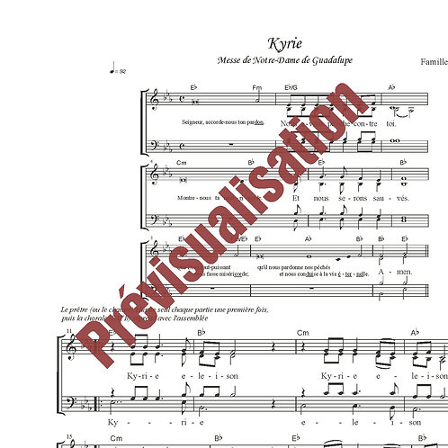 Kyrie (Messe de ND de Guadalupe)
