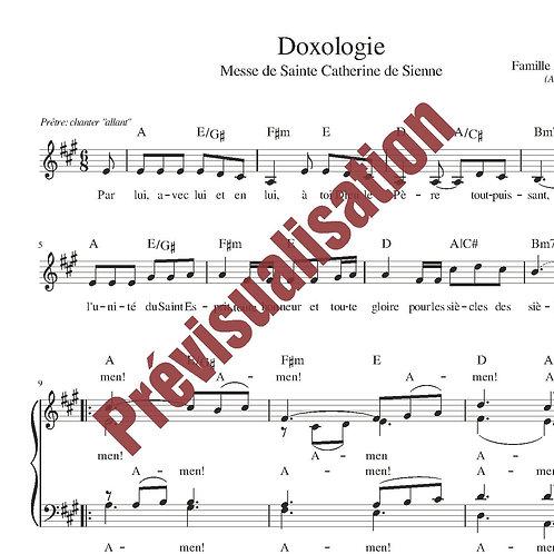 Doxologie (Messe de Ste Catherine)