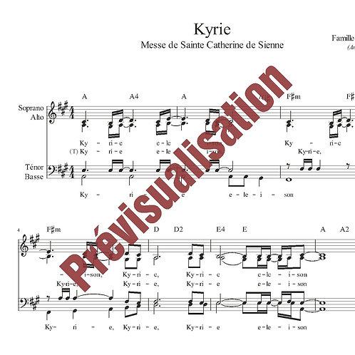 Kyrie (Messe de Ste Catherine de Sienne)