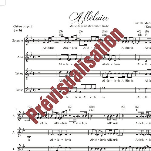 Alléluia (Messe de St Maximilien Kolbe)