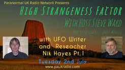 Nik Hayes High Strangeness Factor banner