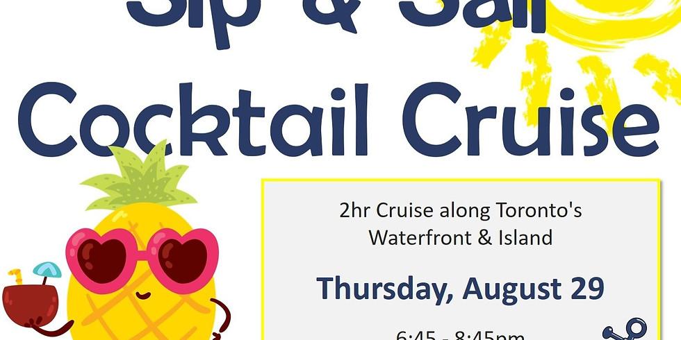 "Summer Sendoff ""Sip and Sail Cocktail Cruise"""