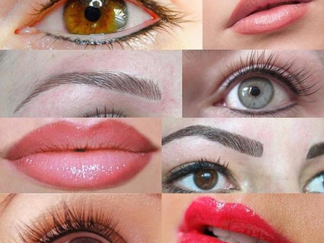 Preparation For A Permanent Makeup Procedure