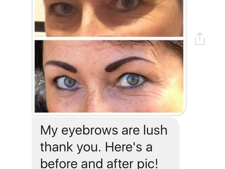 Great client feedback...