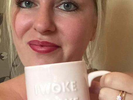 """Wake up with make up"""