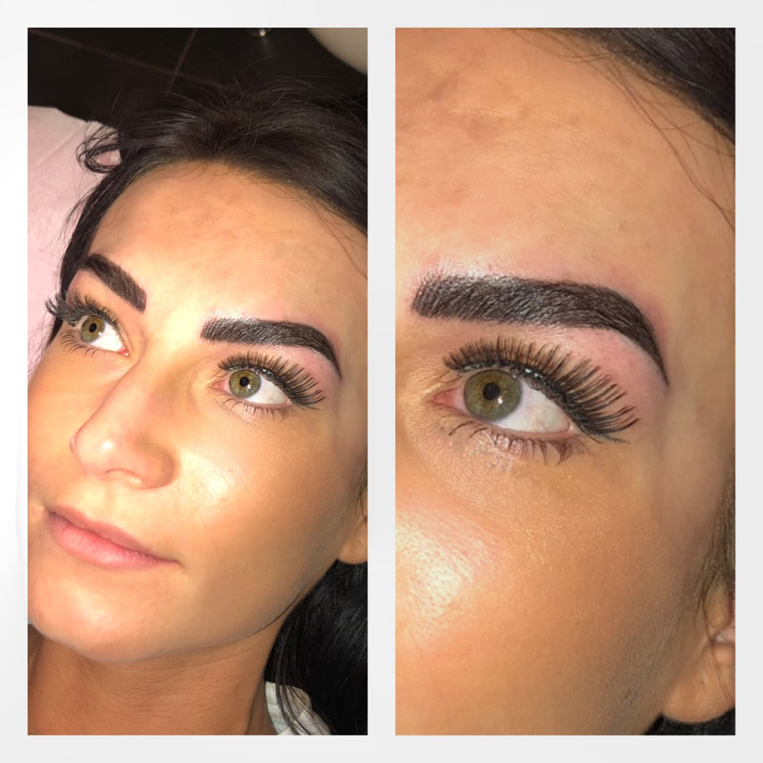 *Most popular style!* Combination Brows