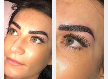 Bold, beautiful, natural look  brows!