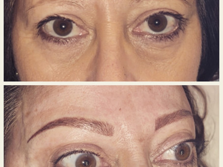Natural look brows!