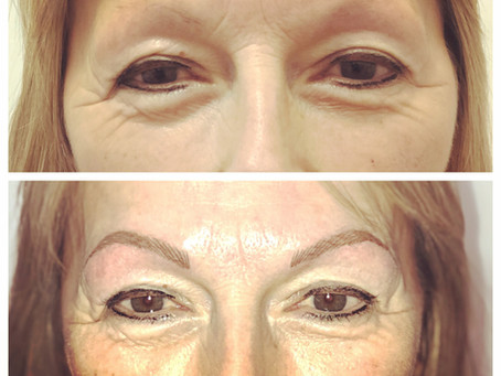 A few of my most recent client's results...I always custom design each set of brows depending on the