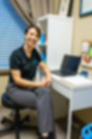 friendly physical therapist