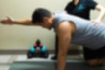 spine surgery injury rehab core