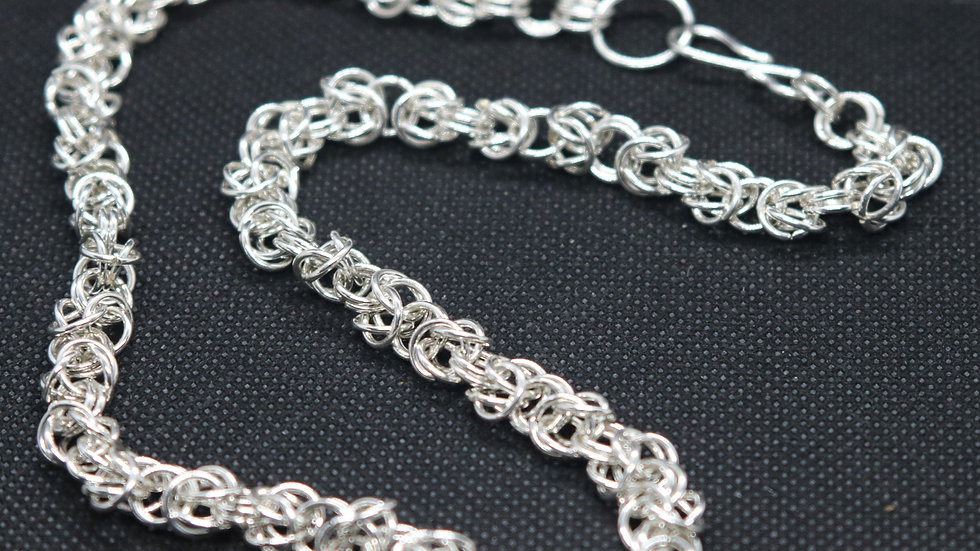 Sterling Silver Byzantium Chain Necklace