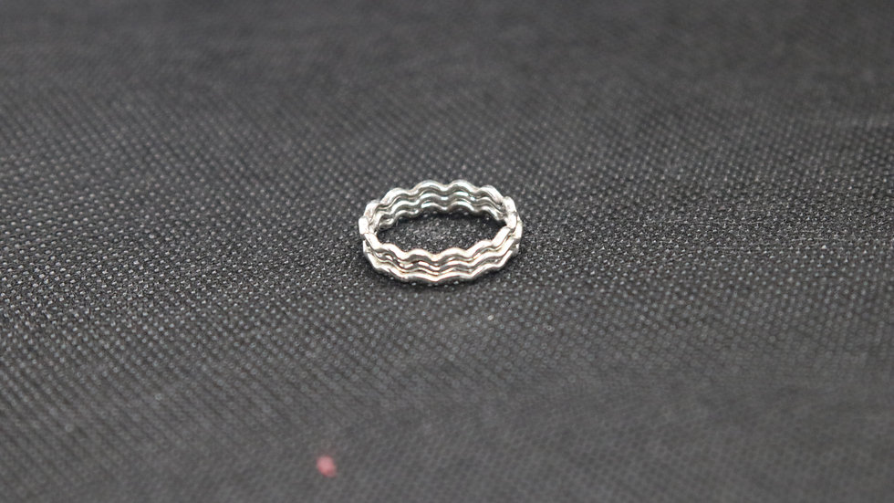 Sterling-Silver Stacking Rings