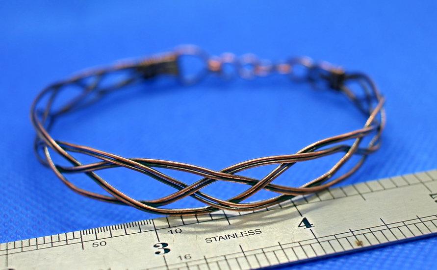 Two Wire Copper Celtic Bracelet