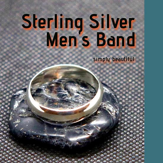 Men's Sterling-Silver Ring