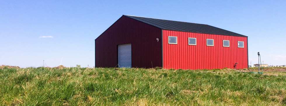 Barn Completion Coming Soon