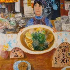2019.07 日向峠のうどん屋さん2019福岡県シニア美術展 奨励賞 受賞