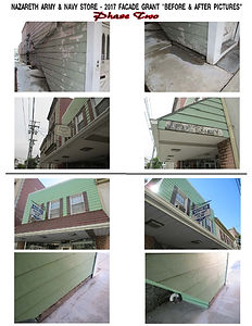 Facade Grant Pics - Before and After - P