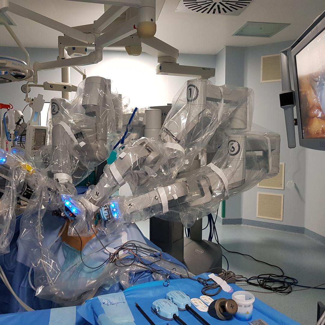 Sistema robotico Da Vinci Si