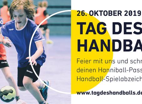 Tag des Handballs am 26. Oktober 2019