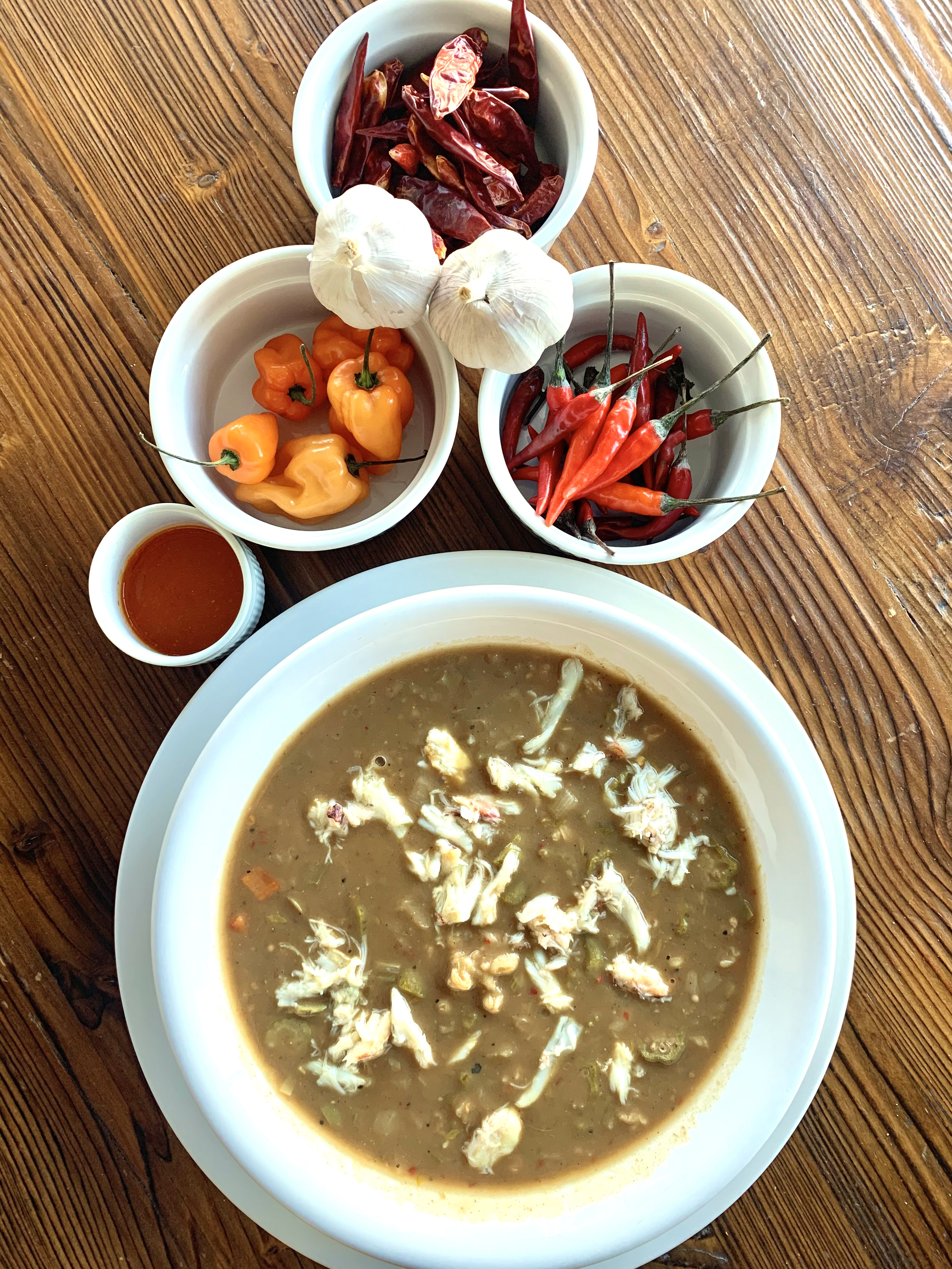 Dungeness Crab Gumbo