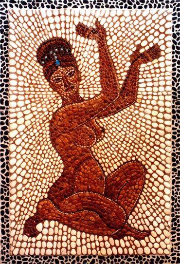 Indian Bathroom Mosaic