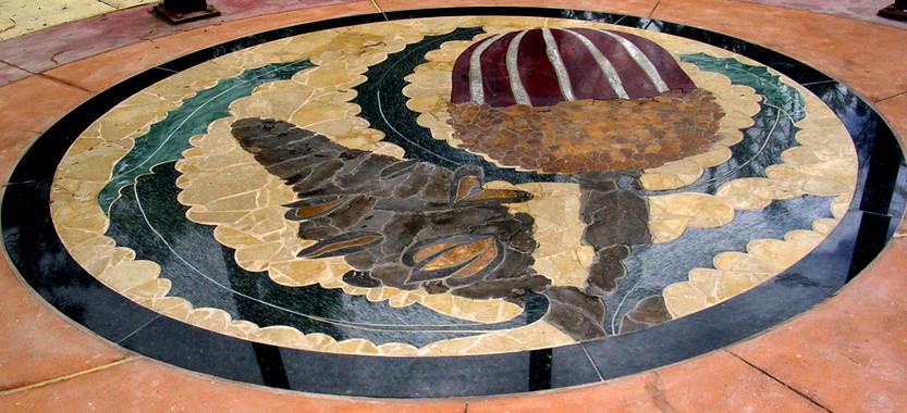 Banksia Garden Enterance Mosaic