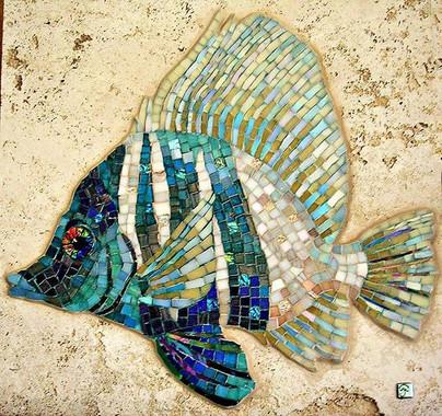 Boarfish mosaic