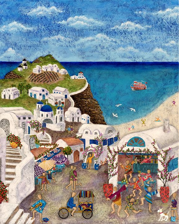 Nicci's 50th Greece Memories