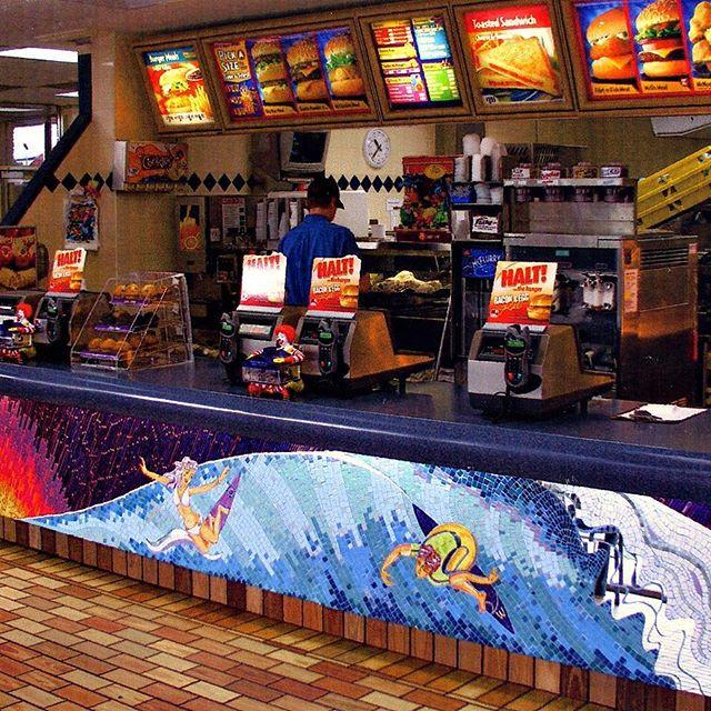 McDonalds Surf Mosaic